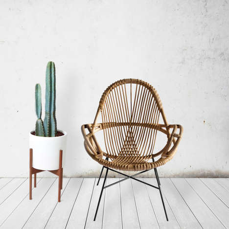 Sustainable Rattan Chairs - WEND Uses Rattan for Furniture That Promotes Rainforest Protection