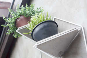 'Garden Modules' is an Abstract Plant Display That's Anchored on Walls