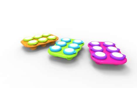 Baby Food Freezer Trays - This Tray Allows Parents to Prepare and Freeze Baby Food in Advance