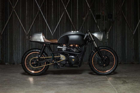Modern Vintage Motorcycles - This Motorbike Combines a Modern Technology with Vintage Features