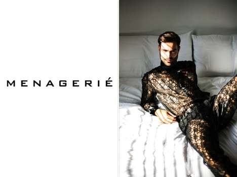 Male Lingerie Brands - Menagerié is a Lingerie Brand That Exclusively Caters to Men