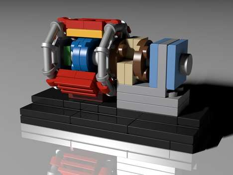 LEGO Particle Colliders - This Large Hadron Collider Model Takes Lego Engineering To the Next Level