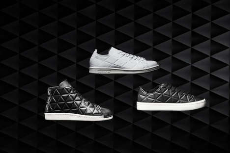 Geometric Shoe Exteriors - Adidas' Polygon Pack Features Classic Styles with a Twist