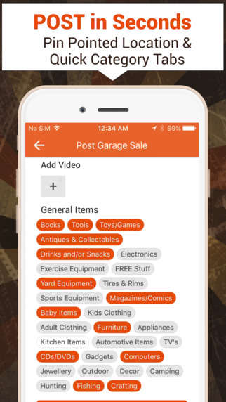 Localized Garage Sale Apps - The Glickin App Helps You Compile Findings From Local Garage Sales