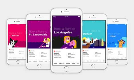 Simplified Travel Apps - The Virgin America App Aims to Simplify the Booking Process for Consumers