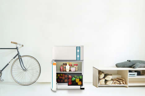 Portable Kitchen Concepts - This Space-Saving Product Forgoes Traditional Kitchen Spaces