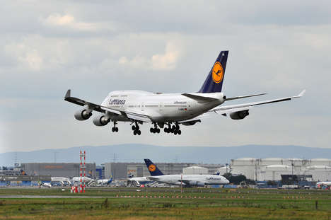 Creative Airline Listings - Lufthansa Airbnb Listings are Aiming to Increase Flight Bookings