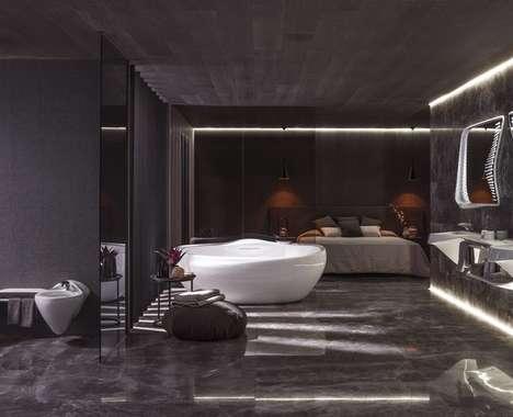 Futuristic Bathroom Designs