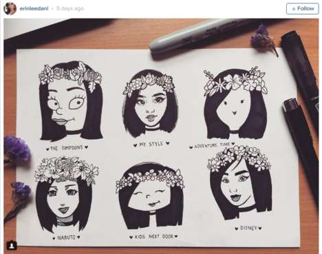 Animation-Inspired Artist Challenges - #StyleChallenge is Asking Artists to Re-Style Their Work