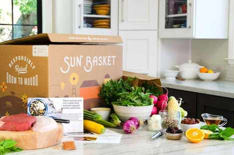 Far-Reaching Meal Deliveries - 'Sun Basket' Delivers Organic Ingredients to 98 Percent of the US