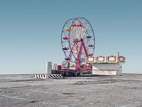 Deserted Fairground Photography - The 'Nowhere' Series Shows the Loneliness of an Empty Carnival
