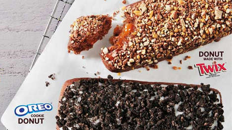 Candy Bar Donut Creations - Tim Horton's New Twix Donut is a Chocoholic's Dream Come True
