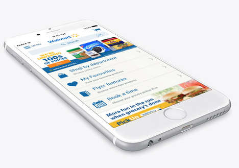 Rollback Retail Platforms - The Walmart Canada App Connects Consumers to Automatic Savings