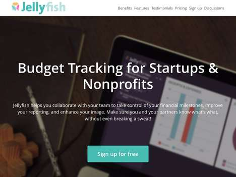 Nonprofit Budget Apps - Jellyfish Helps Startups and Nonprofits Monitor and Track Their Expenses