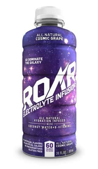 Energizing Electrolyte Beverages - This Roar Drink is Made with a Base of Nourishing Coconut Water