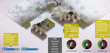 Green Urban Planning Games - Urban Climate Architect Lets Players Build and Protect Their City