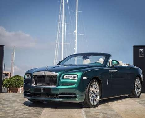 Ocean-Inspired Luxury Cars