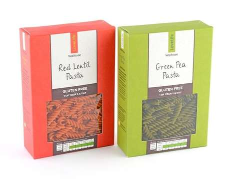 Food Waste Pasta Packaging - These Pasta Boxes are Made from Salvaged Food Waste