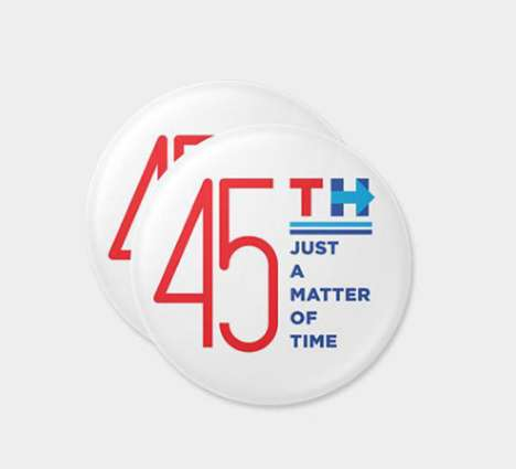 Presidential Campaign Buttons - Artists Designed Creative Buttons for the Hillary Clinton Campaign