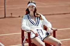 From Throwback Tennis Shirts to Revitalized Retro Tennis Shoes