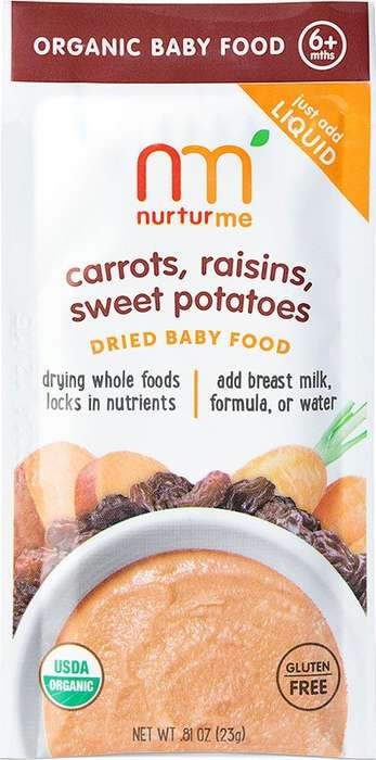 Superfood Baby Blends - The NurturMeals Blended Meals Introduce Infants to Healthy Ingredients