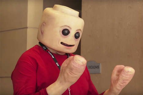 Life-Like LEGO Characters - 'Tested' Created a Human-Sized LEGO Man for the San Diego Comic-Con