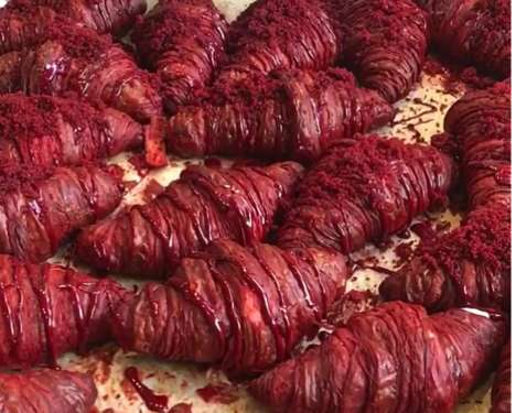 Red Velvet Croissants - These Croissants Put a New Twist on the Classic French Food