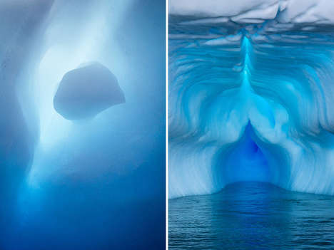 Antarctic Iceberg Photography - Julieanne Kost Captures the Beauty of Antarctica Icebergs