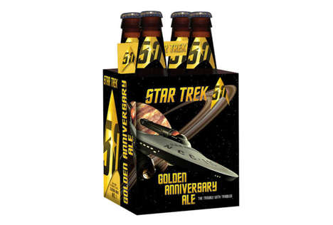 Celebratory Sci-Fi Beers - The Star Trek Anniversary Ales Are Inspired By The Galactic Universe