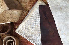 """Fungal Leather Products - The """"Leather"""" Products from MycoWorks are Made from Mushroom Plant Waste"""