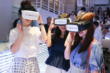 VR Shopping Experiences - The Kabuki-Pedir Shop is Launching 'VR Shopping with Voice Chat'
