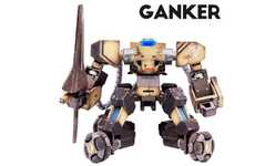 Battling Robot Toys - 'Ganker' Robots Fight Without the Need for Programming Knowledge