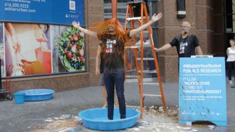 Revived Bucket Challenges - Klick is Reinstating the ALS Ice Bucket Challenge with a Twist
