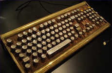 Industrial Steampunk Keyboards