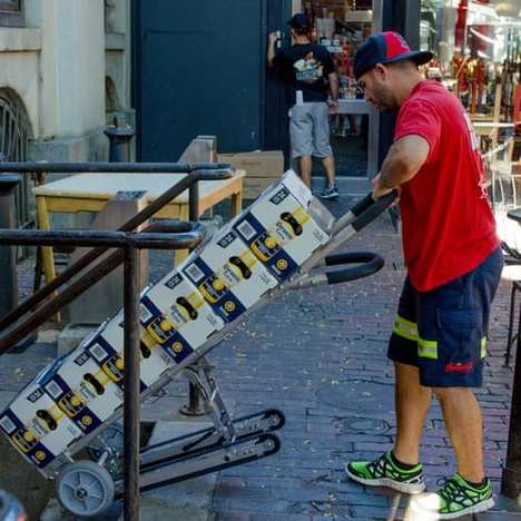 Stair-Scaling Hand Trucks - The Glyde Hand Truck Was Developed by MIT Engineers