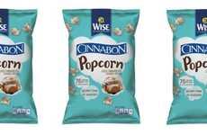 Cinnamon Roll-Flavored Popcorn - This Co-Branded Snack Food Tastes Like Sweet Breakfast Pastries
