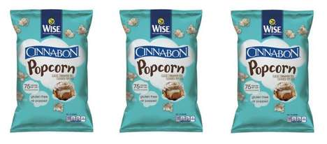 Cinnamon Roll-Flavored Popcorn - This Co-Branded Snack Food Tastes Like Sweet Breakfast Pastries