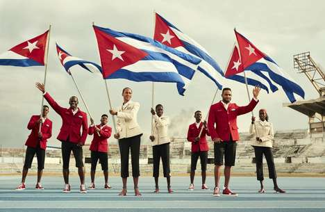 Designer Olympic Ceremony Outfits - Cuban Olympians Will Wear Christian Louboutin Olympic Outfits