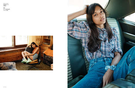 Relaxed Road Trip Editorials - The Ones 2 Watch 'East of Wyoming' Series Boasts Understated Casuals