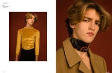 Nostalgic Menswear Portraits - The Ones 2 Watch '1971' Feature Highlights Disco Era Fashion