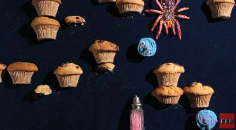 Stop Motion Food Games - The Game Over Video by PES Recreates Retro Games Using Edible Items