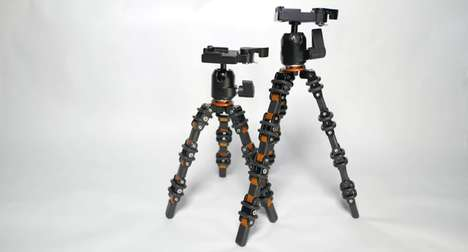 Flexible Vlogging Tripods - The Shot-Perfecting Tripod Design was Created Specifically for YouTubers