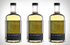 Refreshingly Light Whiskeys - The Kikori Japanese Whiskey is a Paler Alternative to Heavier Spirits