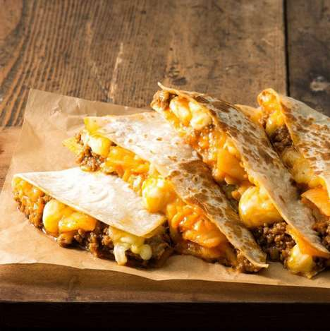Korean Quesadilla Dishes - Taco Bell in Korea Started Serving a Kimchi Quesadilla Last June