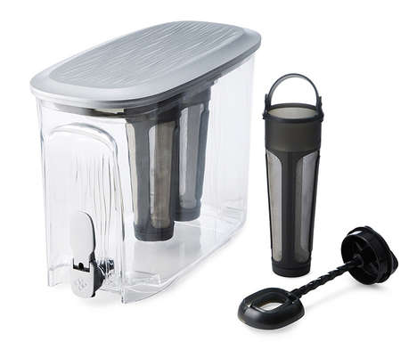 Chilled Coffee Dispensers - The Primula Cold Brew Coffee Machine Uses a Two Filter Drip System