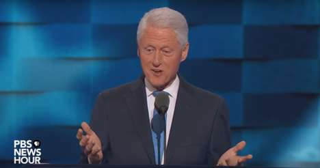 Change-Makers' Legacies - Bill Clinton's DNC Speech on Change Describes the Work of His Wife