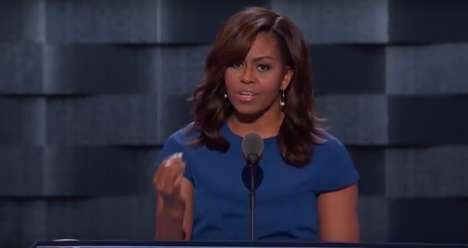 Building a Better Future - Michelle Obama's Powerful DNC 2016 Speech Spoke About Future Generations