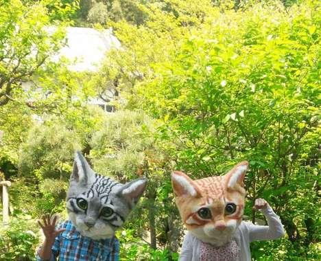 Wearable Feline Headpieces