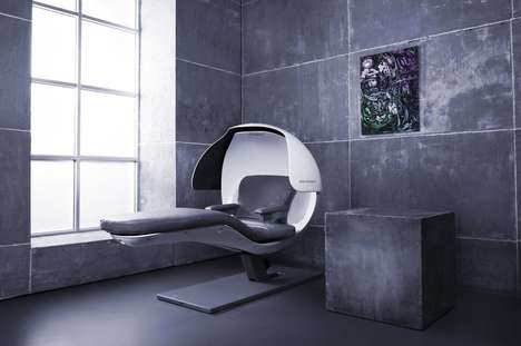 Workplace Nap Pods - The Energy Beds Provide a Place to Catch Up on Sleep With a Programmed Rest