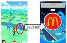 Anime Game Food Partnerships - McDonald's Japan and Pokemon Go Turn Each Location Into a Poke Stop